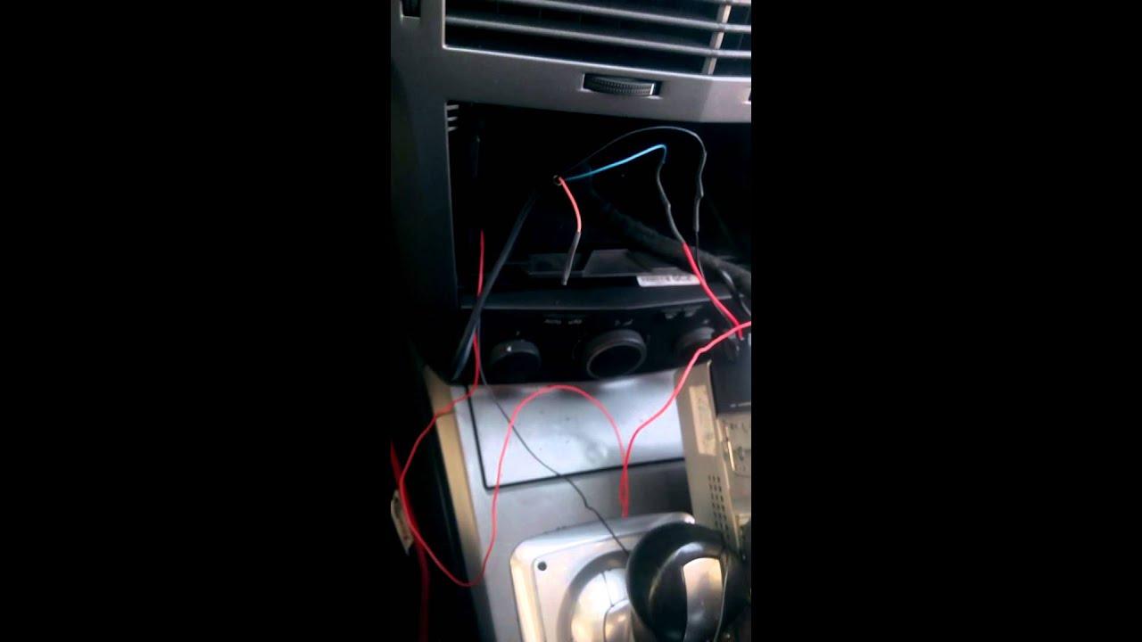 medium resolution of opel astra h cd30 mp3 aux external n s stem montaj