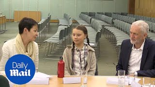 Activist Greta Thunberg meets Westminster party leaders