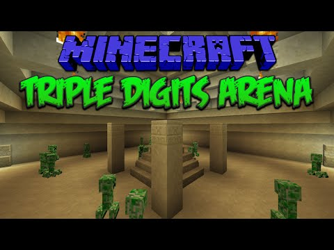 Minecraft: Triple Digits Arena (PvE Map)