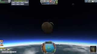Kerbal Space Program: How To re enter Kerbins Atmosphere in 1.0.4