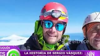 Gambar cover El primer Andinista ciego en escalar la cima del Volcán Lanín