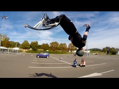 jumping stilts are like free running on steroids