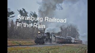 Strasburg Railroad in the Rain