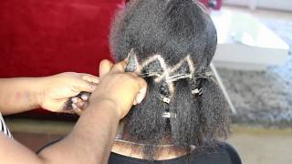 HOW TO: Step by step  PARTING FOR MY MEDIUM BRAIDS