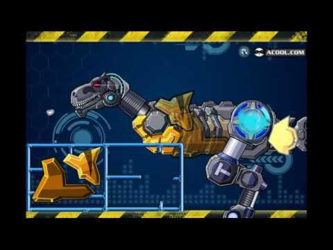 Видео игры Собрать робота динозавра Ай-Рекса