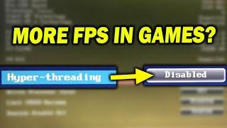 Hyper Threading (SMT) - On Vs Off For PC Gaming.