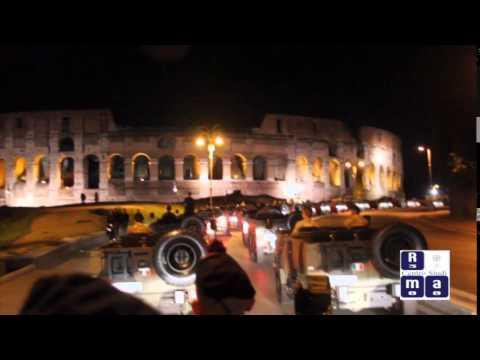 2 giugno 2014 - Prove notturne della parata per la festa della Repubblica