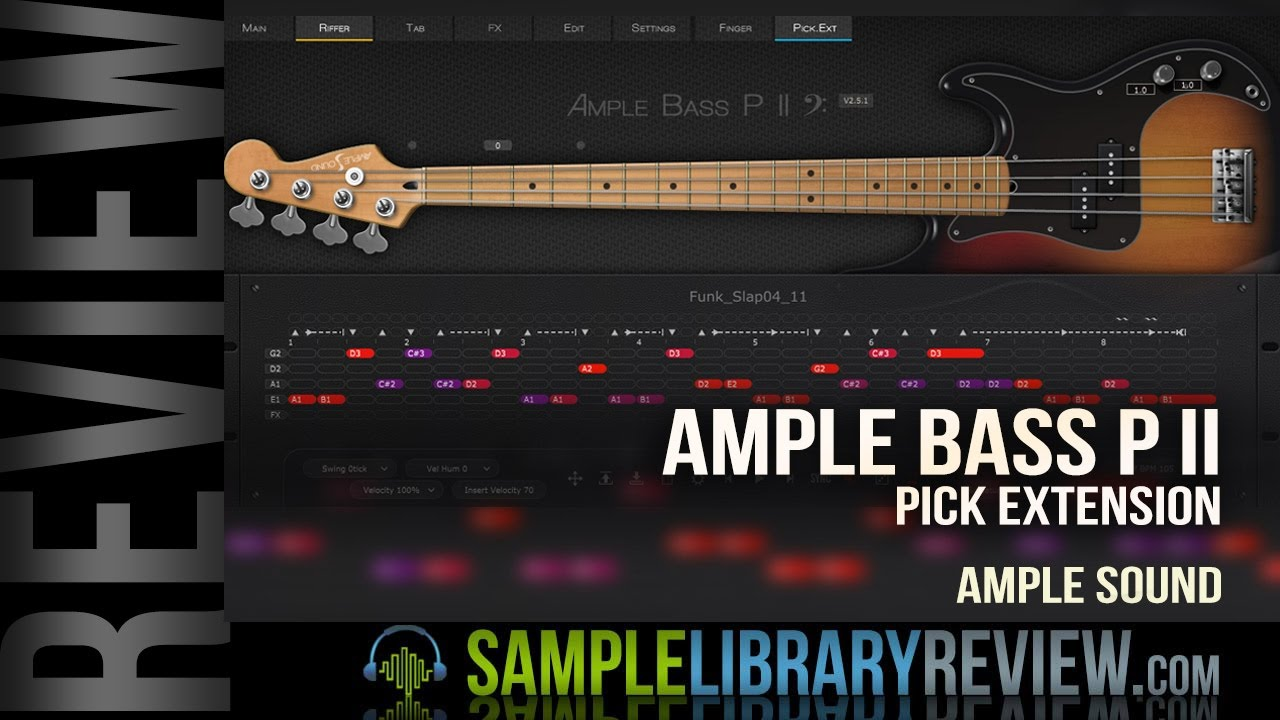 Review: Ample Bass P II Pick Extension from Amplesound