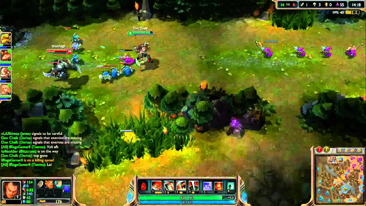 League Of Legends Darius Gameplay Youtube