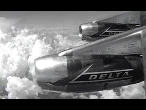 Delta Douglas DC-8 & Convair CV-880 Commercial - 1961