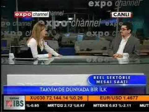 Canvastar Tablo Takvim Expo Channel TV Söyleşisi Bölüm 1