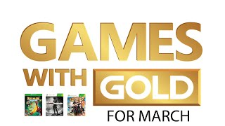 Xbox Live Games with Gold for March and Double Games in April [2015]