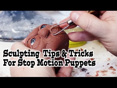 Sculpting Tips and Tricks For Stop Motion Puppets