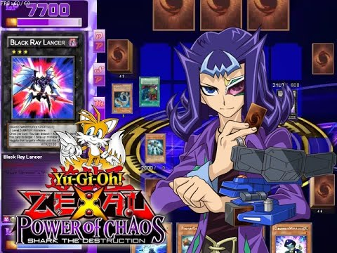 Yugioh! Zexal power of chaos mod (pc game) evolsaur vs crashbug.