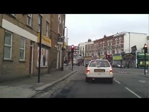 Driving in London - East Dulwich to Loughborough Junction