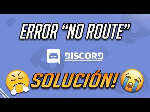 Solución Error 'No Route' de Discord en Windows 10/8/7