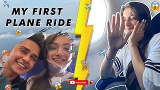 FIRST TIME IN PLANE✈️ || GOA VLOG PART-1 || AMULYA RATTAN