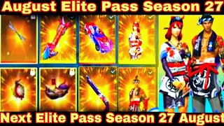 Free Fire Next Elite Pass August 2020 | Free Fire August Elite Pass 2020 | Free Fire Next Elite Pass