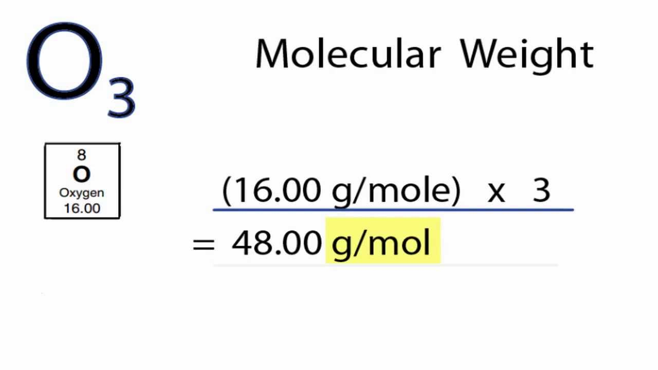 O3 molecular weight how to find the molar mass of o3 youtube gamestrikefo Choice Image