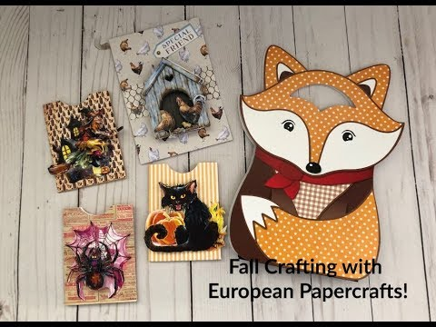 Fall Crafting with European Paper Craft Haul
