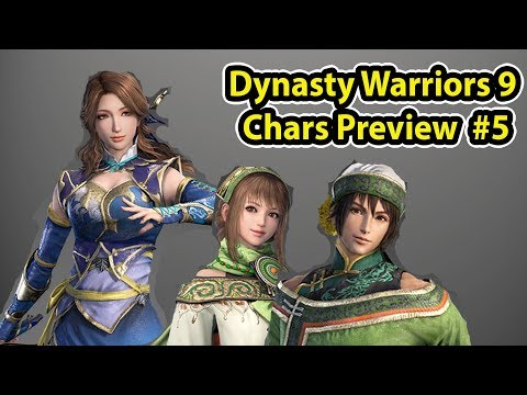 Bao, Zhang Chunhua & Senjata Dynasty Warriors 9! - DW 9 Char Preview (5)
