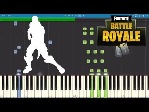 Fortnite Groove Jam - Piano Tutorial - Dance Emote