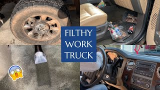Complete Transformation of Filthy Work Truck | Full Exterior and Interior Satisfying Car Detailing