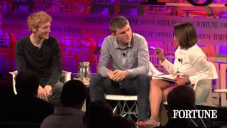 Patrick and John Collison of Stripe at Fortune's Brainstorm Tech | Fortune