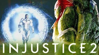 Teenage Mutant Ninja Turtles - Possible Recycled Intro Dialogues | INJUSTICE 2