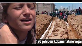 ISIS massacre victims in Kobani 203 dead ,325 injured 27-6-2015