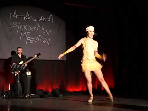 Ksenia Parkhatskaya at the Stockholm Tap Festival 2012