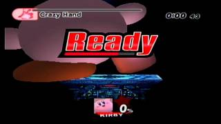 Super Smash Bros Brawl Hack - Growing Kirby - Boss Battles on Intense