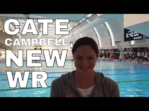 Cate Campbell Talks 50.25 100m Freestyle World Record