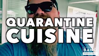 COMEDIAN CATFISH COOLEY: QUARANTINE CUISINE - STAY HOME COMEDY FUNNY