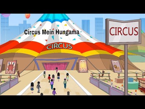 Pyaar Mohabbat Happy Lucky - Ep.89 | Circus Mein Hungama | Hindi Animated Cartoon Show | ZeeQ