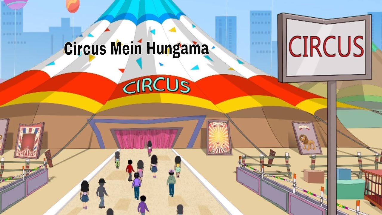 Pyaar Mohabbat Happy Lucky – Ep.89 | Circus Mein Hungama | Hindi Animated Cartoon Show | ZeeQ  #Smartphone #Android