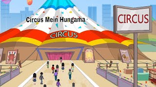 Pyaar Mohabbat Happy Lucky - Ep.89 | Circus Mein Hungama | Hindi Animated Cartoon Show | ZeeQ thumbnail