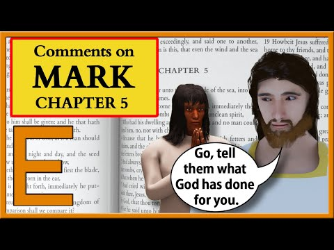 Bible Study on the Gospel of Mark: Chapter 5