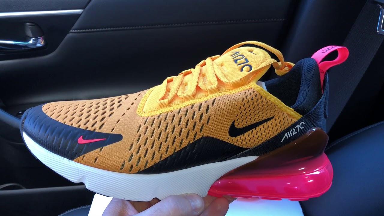 Nike Air Max 270 tiger sneaker - YouTube 4a5fd9fe3302