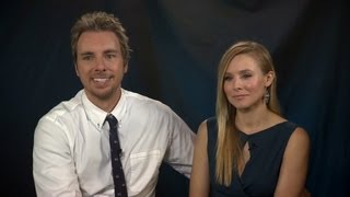 Raw Video: Dax Shepard and Kristen Bell on acting together