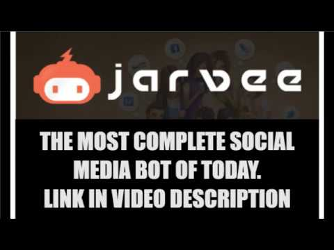 JARVEE - Best Facebook Bot in 2018 - Auto poster and much more