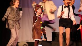 "Jane Richards as ""Gingy"" in Shrek Jr. The Musical"