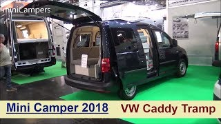vw caddy mini camper 1. Black Bedroom Furniture Sets. Home Design Ideas