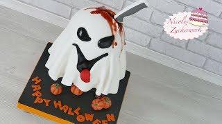 Geist Torte I HALLOWEEN Torte I Gravity Cake von Nicoles Zuckerwerk