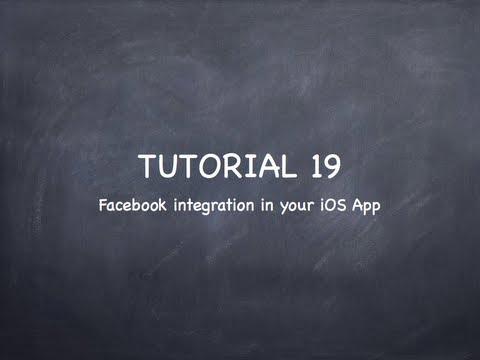 "iOS Tutorial 19 ""Social Framework Facebook"""