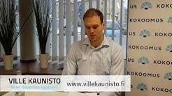 Ville Kaunisto, kuntavaaliehdokas