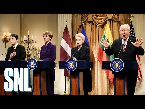 Donald Trump Baltic States Cold Open  SNL