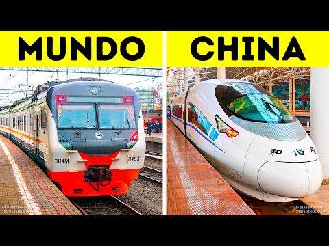 Por Que Existem Tantos Trens Bala Na China