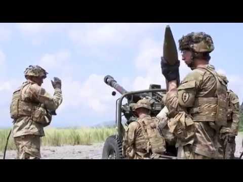 Balikatan 18:1st Battalion, 21st Infantry Regiment, 25th Infantry Division, artillery assault, PERU