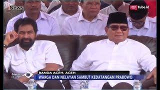 Prabowo Subianto Peringati 14 Tahun Tsunami Aceh Bersama Warga dan Nelayan - iNews Malam 26/12